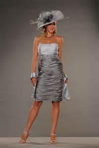Silver Mother of Bride Wedding Dress