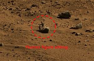 Alien Life On Mars | ... NASA Rover Photo Reveals Life ...