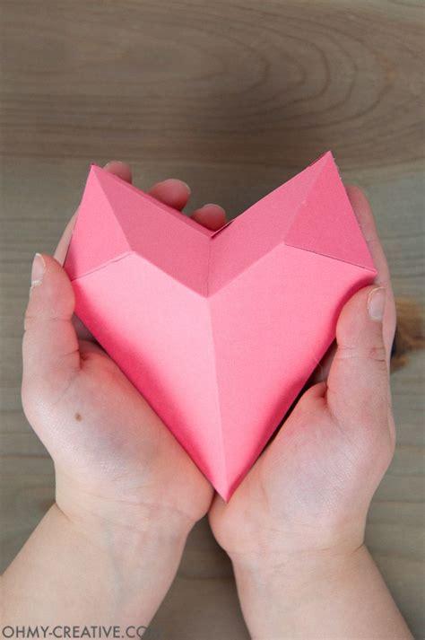 paper heart box origami heart paper