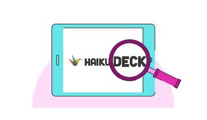 Deck Haiku Presentation Brightcarbon