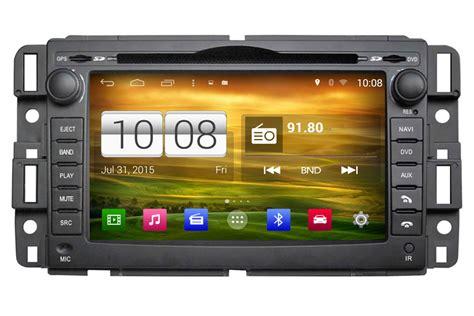 gmc acadia savana sierra yukon android car gps navigation