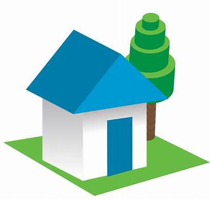 3d Clipart Clip Outline Cliparts Houses Drawing