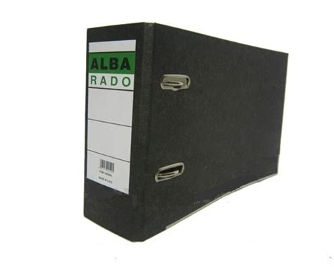 Alba Rado Marble Box File, A3, Broad (3