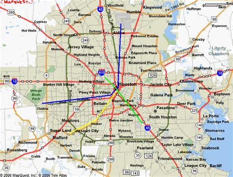 Houston Metro Map - ToursMaps.com