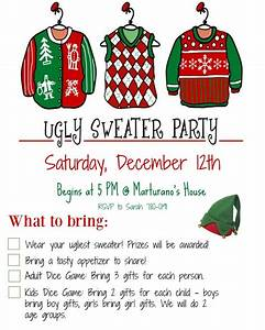 how to host an ugly christmas sweater party must have mom With ugly sweater christmas party invitations template