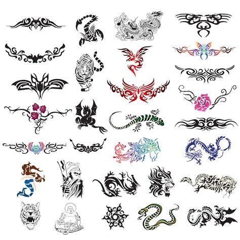 temporary tattoo airbrush design stencil patterns ebay