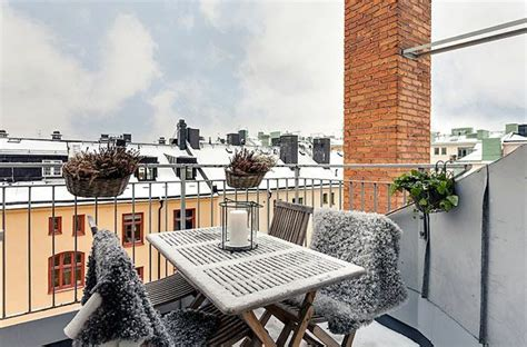Balkon Im Winter Nutzen by Terrasse Einrichten Bereiten Sie Ihren Au 223 Enbereich Auf