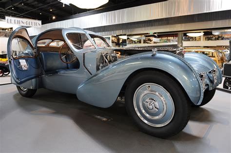 Type 57s were built from 1934 through 1940, with a total of 710 examples produced. FAB WHEELS DIGEST (F.W.D.): 1936 Bugatti Type 57SC Atlantic (Chassis 57374)