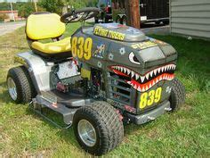 Slicks Garage Lawn Mower Engine by Rod Lawn Mower Racer Ratrods Lawn