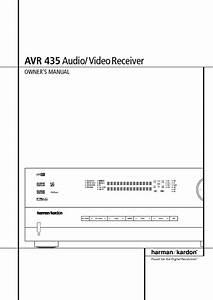 Avr 435 Manuals