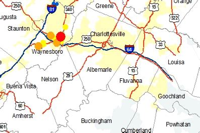 breaking widespread power outage hits area