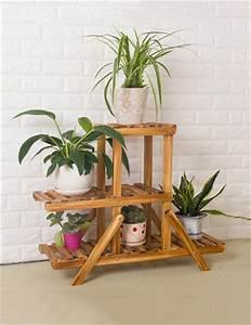 Pflanzen Für Wohnzimmer : xyz multi tier holzboden blumentopf regal pflanzen stehen blumenregal f r wohnzimmer balkon ~ Markanthonyermac.com Haus und Dekorationen