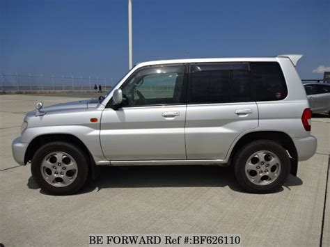 mitsubishi pajero io used 2002 mitsubishi pajero io zr gh h72w for sale