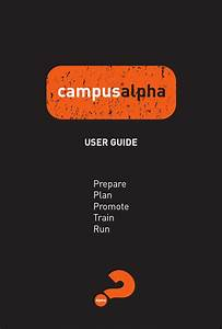 Campus Alpha User Guide By Alpha Usa