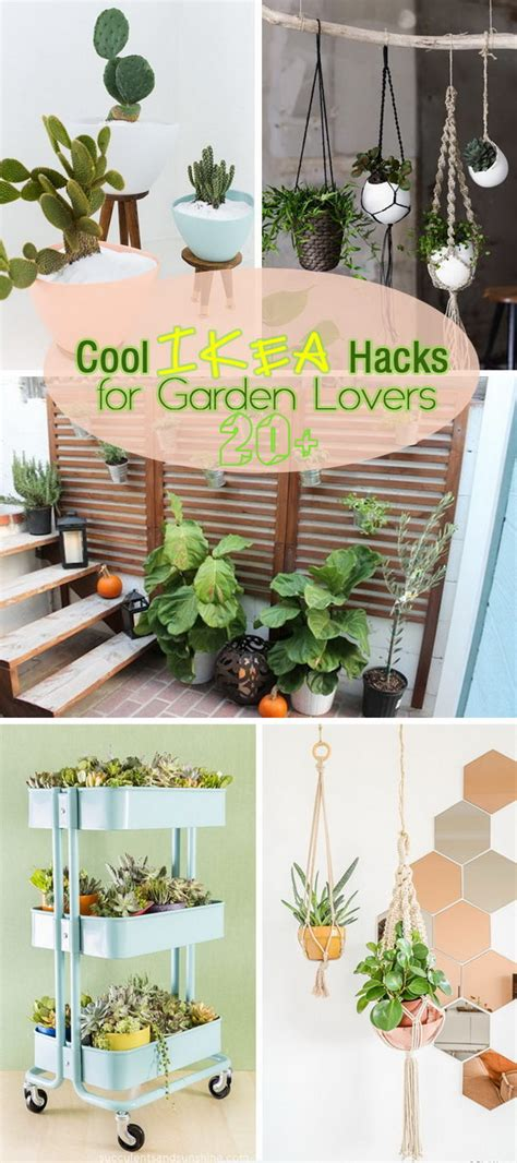 Ikea Garden Hacks by 20 Cool Ikea Hacks For Garden Lovers