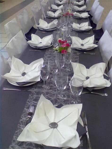 deco mariage blanc et gris mariage gris et blanc de arumpassion1