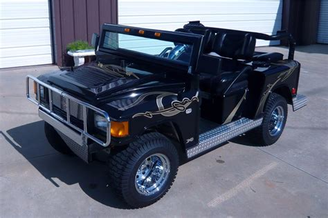 2004 Custom Built Hummer Golf Cart