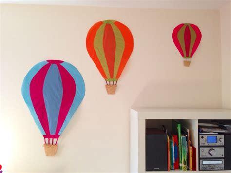 homemade hot air balloon decoration themes kids rooms flight theme kids room ripstop hot air