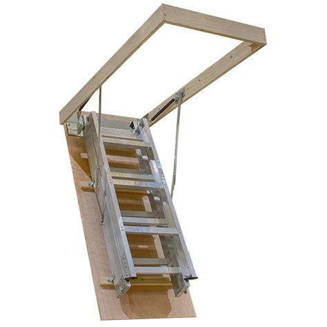 aluminium ladder bunnings kimberley 2 34 3 12m premier aluminium attic ladder