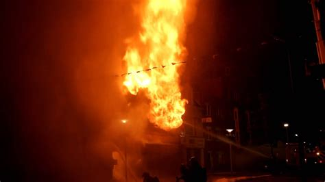 flashover  house fire  leeuwarden netherlands  nederland youtube