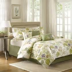 buy purple green comforter from bed bath beyond
