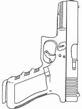 Coloring Pages Gun Boys Printable sketch template
