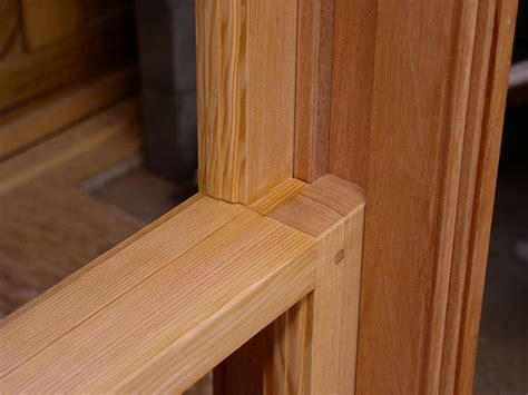 window sash joinery details