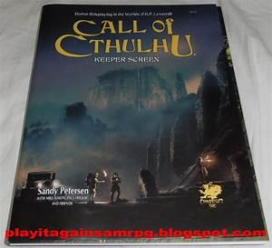 Play It Again  Sam  Call Of Cthulhu Keeper Screen  7th