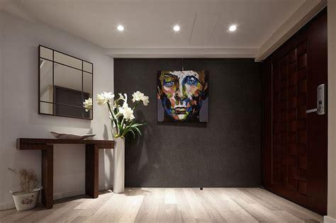 Dark Sophistication Thirtyyearold Apartment Embraces A