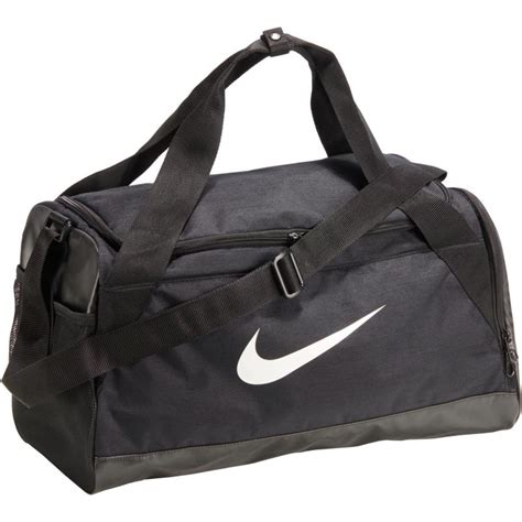 nike brasilia fitness bag black decathlon