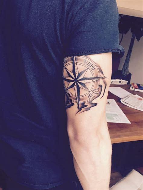 afbeeldingsresultaat voor compass arm tattoo deviant art