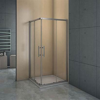 Shower Sliding Corner Walk Glass Door Enclosure