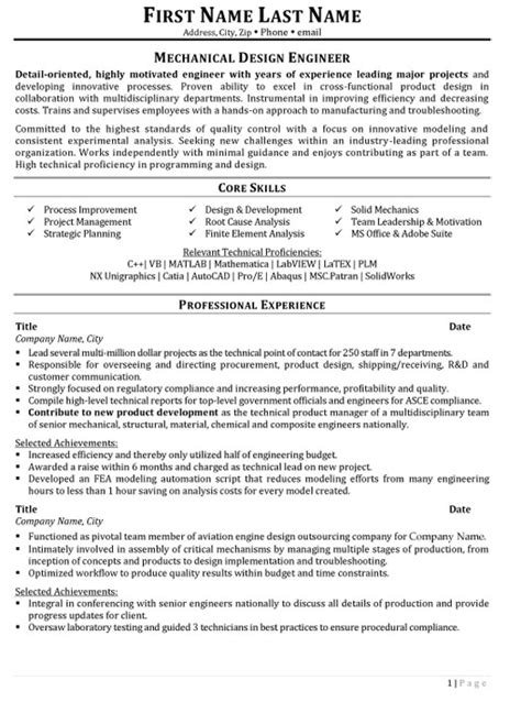 top aerospace resume templates samples