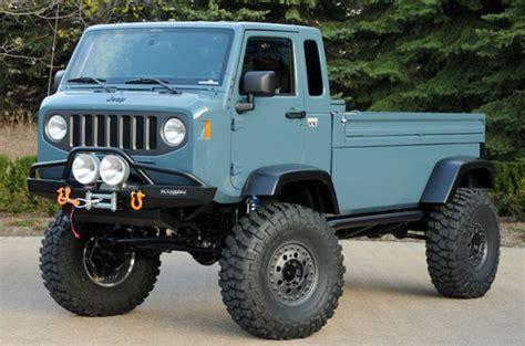 new jeep concept truck jeep pickup concepts pre safari off road off road wheels