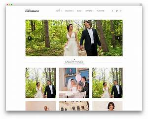 template wordpress wedding planner matrimoni sito wp With wedding photography website templates