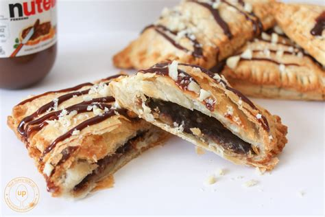 puff pastry desserts with nutella three ingredients banana nutella puff pastry pies