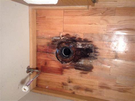 Repair Bathroom Floor by Bathroom What S The Best Way To Repair This Hardwood