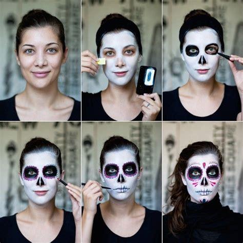 maquillage t 234 te de mort mexicaine parce qu on l adore