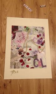 Housies! Chanel collage! #chanel #collage #crafts # ...