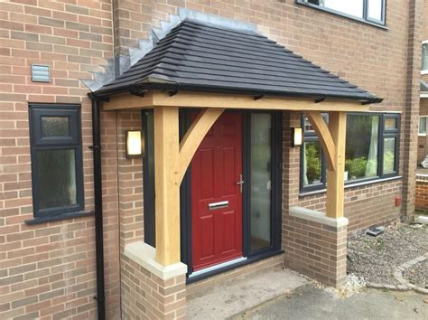 hip roof porch concept green oak porch at stramshall with a more modern style and