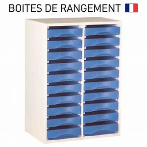 Banette De Rangement : meuble bois blanc pour boites de rangement starbox plateau ref mplb ~ Teatrodelosmanantiales.com Idées de Décoration