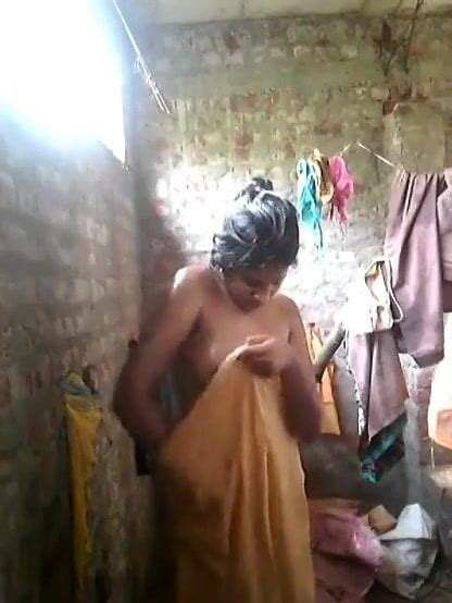 Indian Village Wife Undressing And Taking Bath Porn Fe