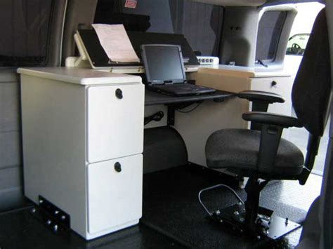 mobile desk for truck desk chair for mobile office mobile office pinterest