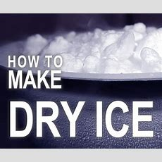 How To Make Dry Ice  With A Fire Extinguisher! 5 Steps (with Pictures