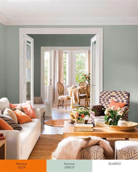 sofa verde para salon m 225 s de 25 ideas incre 237 bles sobre paredes naranja en