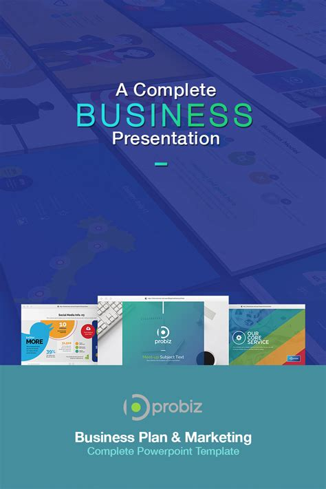 business plan marketing powerpoint template