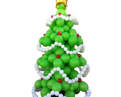 how to make a balloon christmas tree 3d link o loon 174 balloon tree by eddie heyland