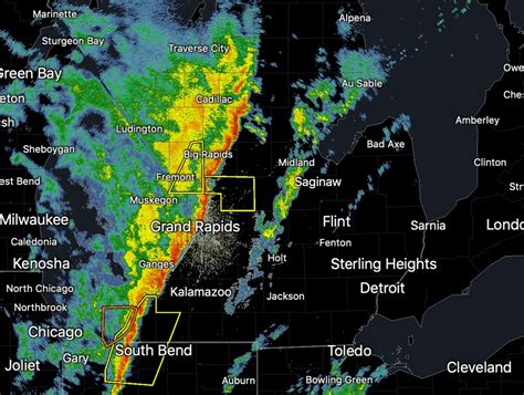 Severe Thunderstorm Watch for western half of Lower ...