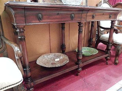 thomasville console table ernest hemingway collection
