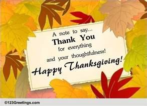 a thanksgiving thank u note free thank you ecards greeting cards 123 greetings